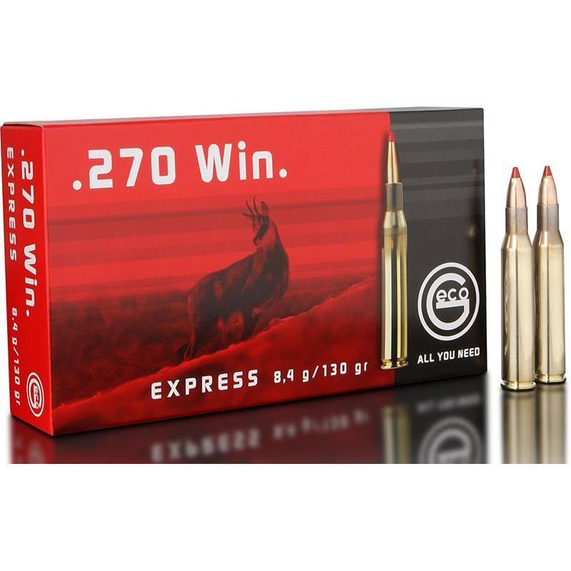 Balle De Chasse Geco Express - 130Gr - Calibre 270 Win