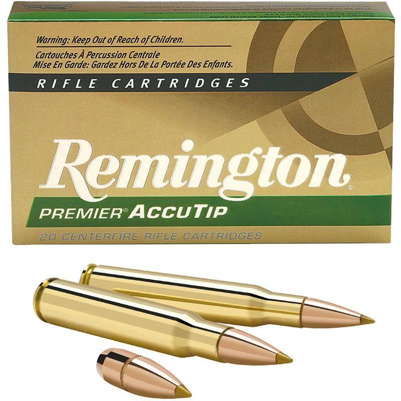 Balle De Chasse Remington Accutip Boat Tail - 180Gr - Calibre 300 Win Mag