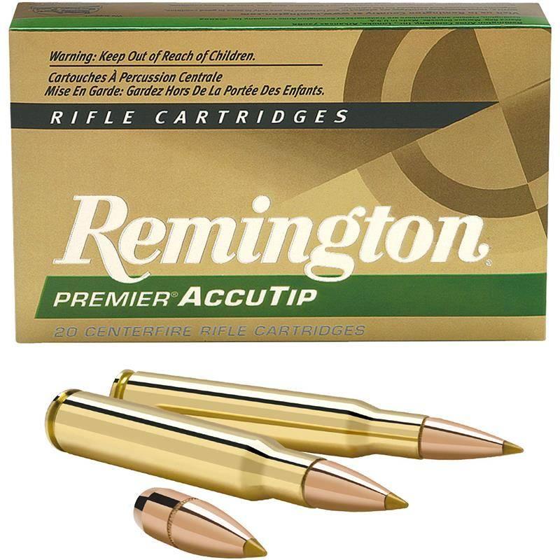 Balle De Chasse Remington Premier Accutip - 180Gr - Calibre 30-06 Sprg