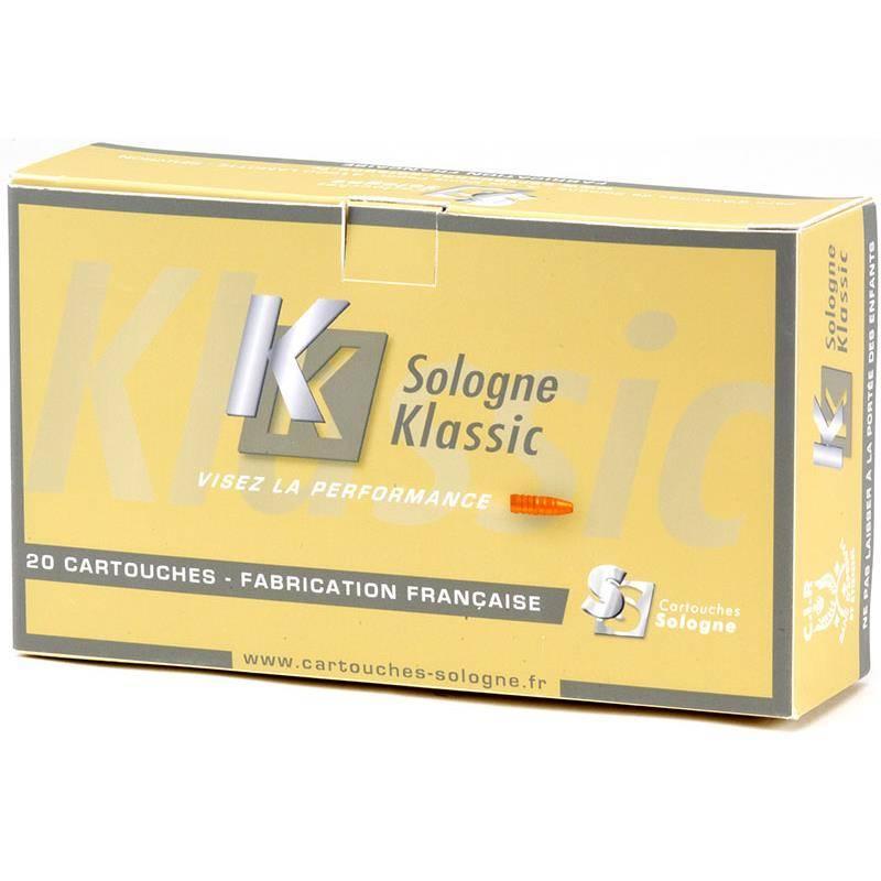 Balle De Chasse Sologne Klassic - 95Gr - Calibre 243 Win