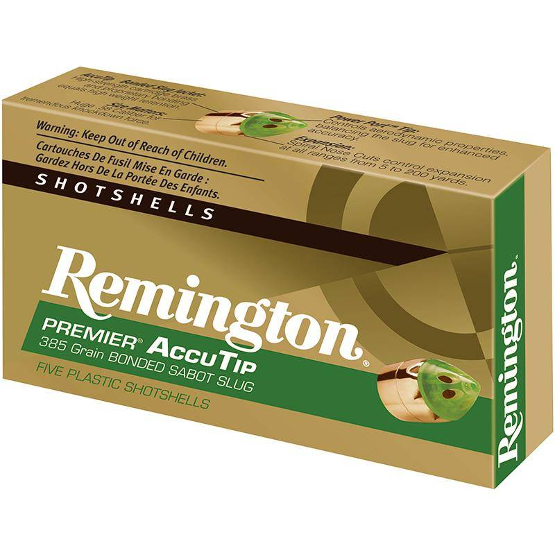 Balle De Fusil Remington Copper Solid Slug - 17G - Calibre 20