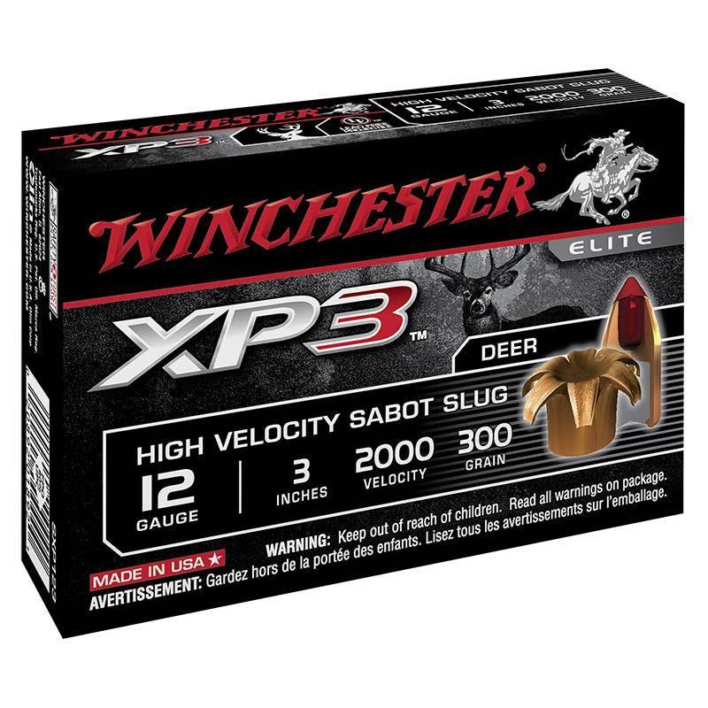 Balle De Fusil Winchester Xp3 - 19.5G - Calibre 12/76