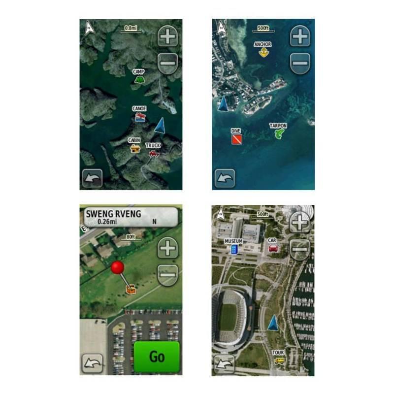Carte Birdseye Satellite Imagery Garmin