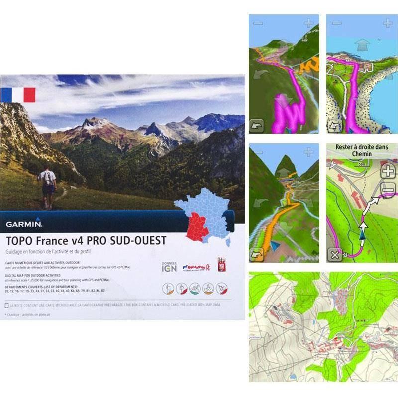 Carte Topo Garmin France V4