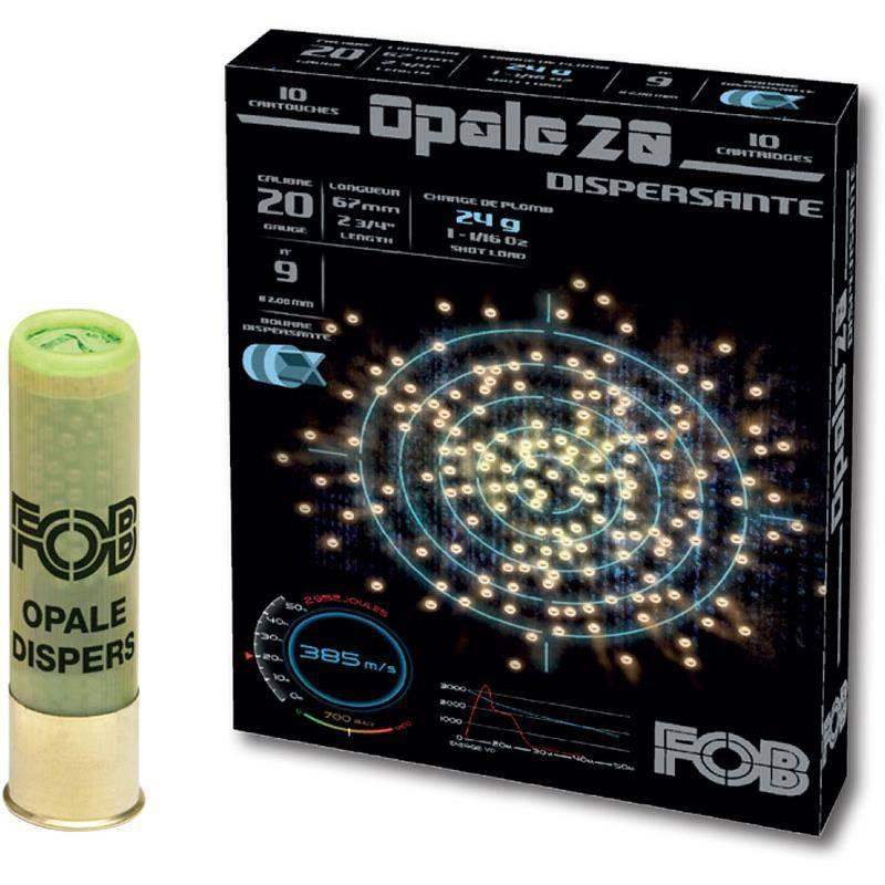 Cartouche De Chasse Fob Performance Opale 20 - 24G - Calibre 20