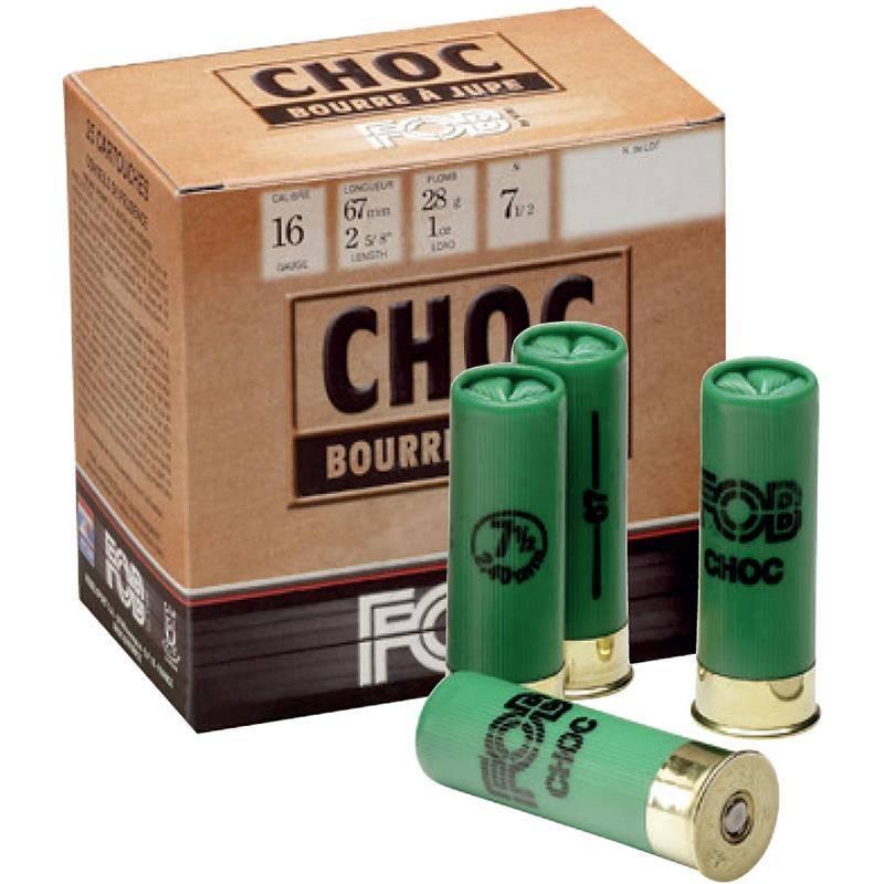 Cartouche De Chasse Fob Special Choc - 28G - Calibre 16