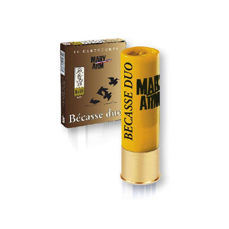 Cartouche De Chasse Mary Arm Becasse Duo - 29G - Calibre 20