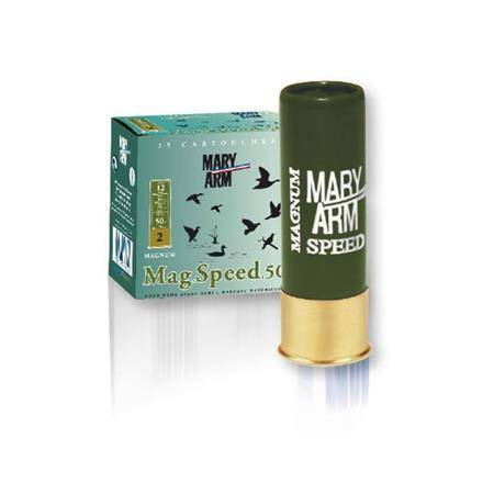 CARTOUCHE DE CHASSE MARY ARM MAG SPEED 50 - 50G - CALIBRE 12