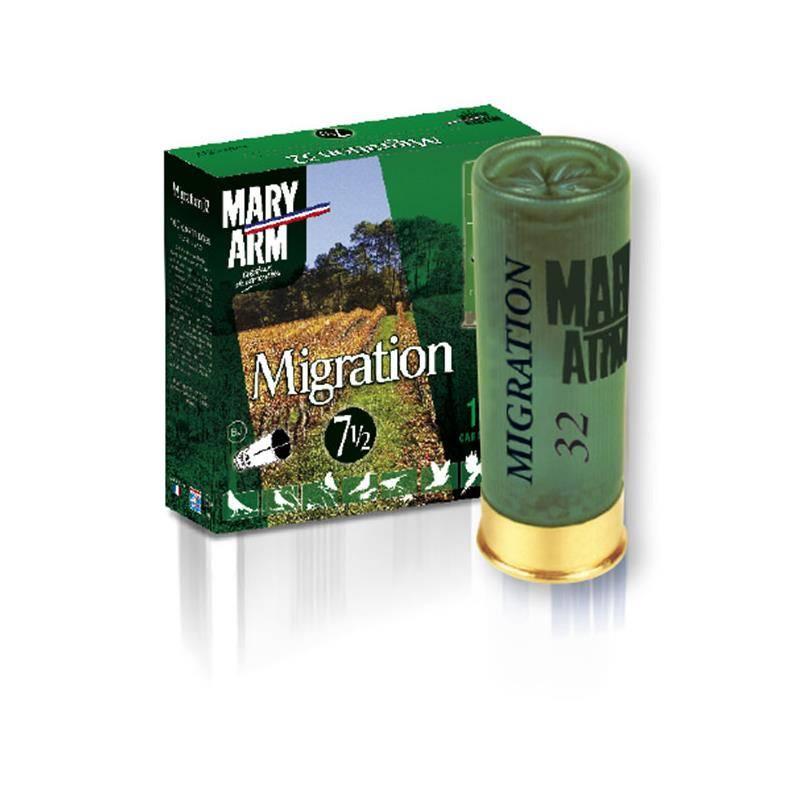 Cartouche De Chasse Mary Arm Migration 32 - 32G - Calibre 12