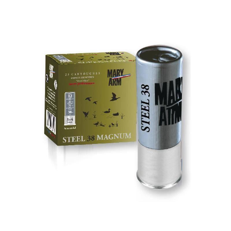 Cartouche De Chasse Mary Arm Steel 38 Magnum - 38G - Calibre 12
