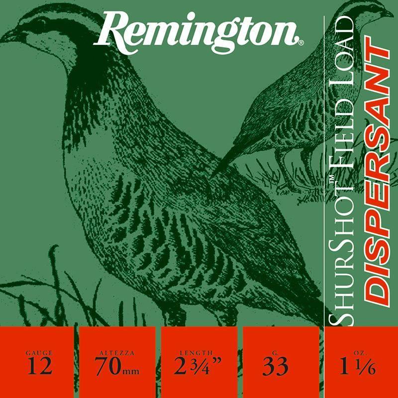 Cartouche De Chasse Remington Shurshot Bg Dispersante - 33G - Calibre 12