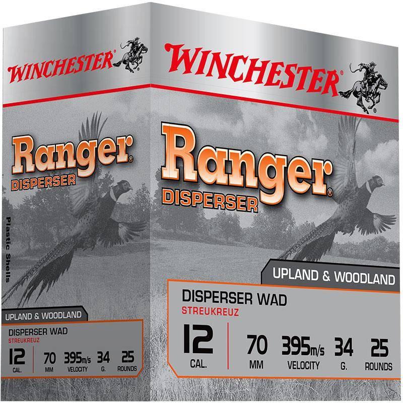 Cartouche De Chasse Winchester Ranger Disperser - 34G - Calibre 12/70
