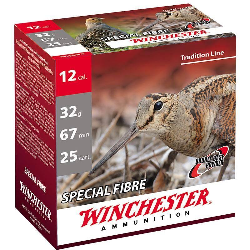 Cartouche De Chasse Winchester Special Fibre - 32G - Calibre 12/67