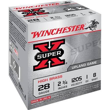 CARTOUCHE DE CHASSE WINCHESTER SUPER-X - 28G - CALIBRE 28/70
