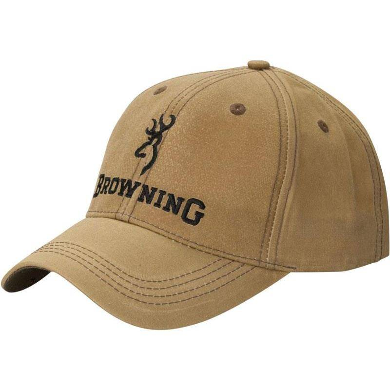 Casquette Homme Browning Little Wax - Kaki