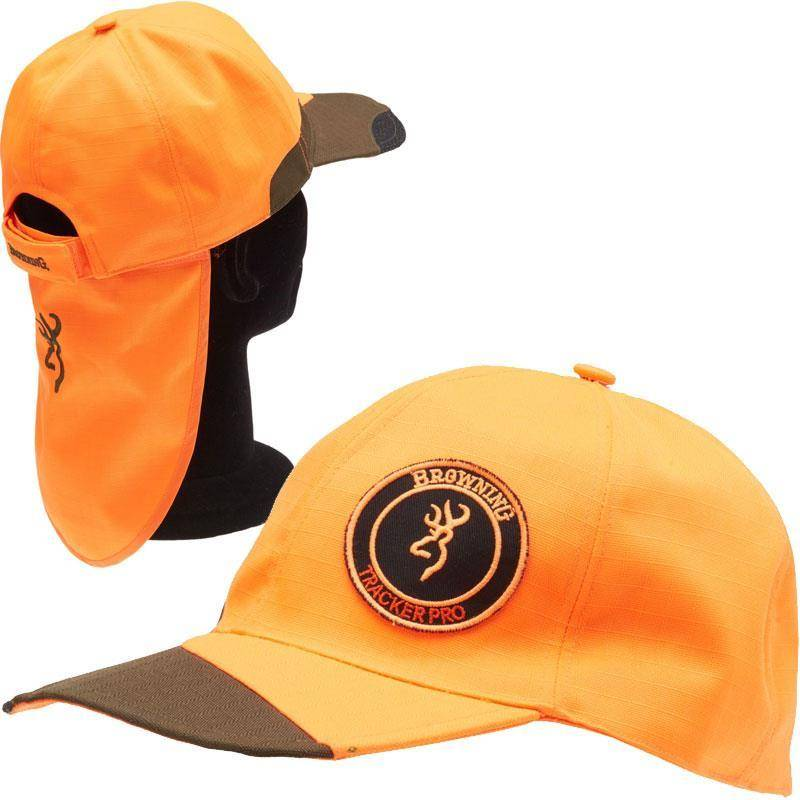 CASQUETTE HOMME BROWNING TRACKER PRO - ORANGE