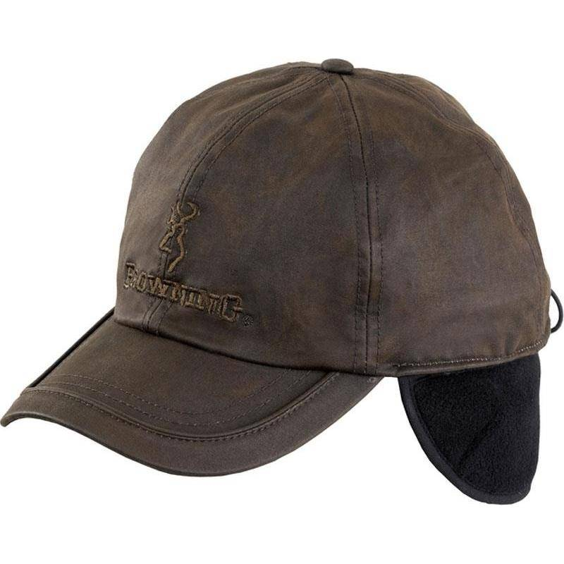 Casquette Homme Browning Winter Wax Fleece Huilee - Marron