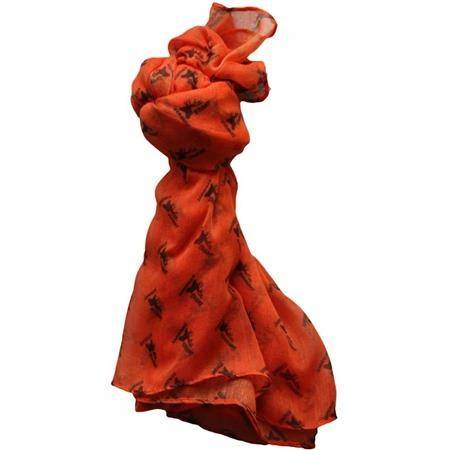 CHECHE STAGUNT STAGUNT HUNTER SCARF - ORANGE