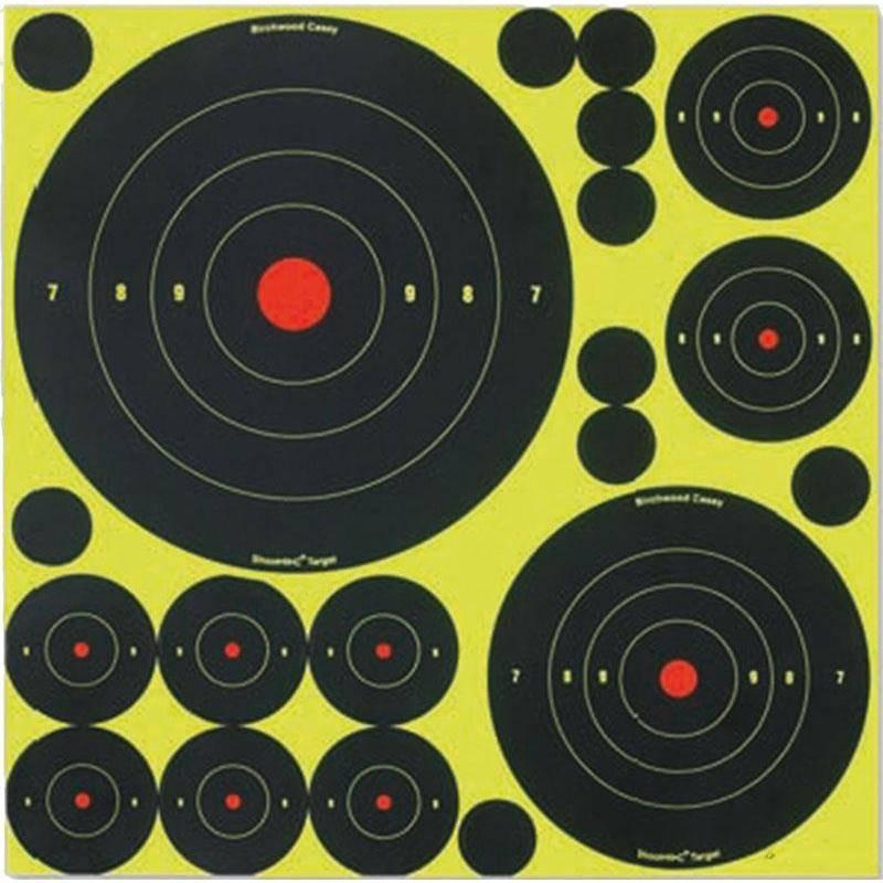 Cible Birchwood-Casey Shoot-N-C Mix 50 Cibles