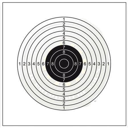 CIBLE SHOOT AGAIN 14X14