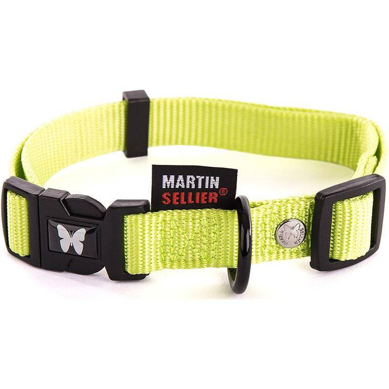 Collier Chien Nylon Uni Reglable Martin Sellier