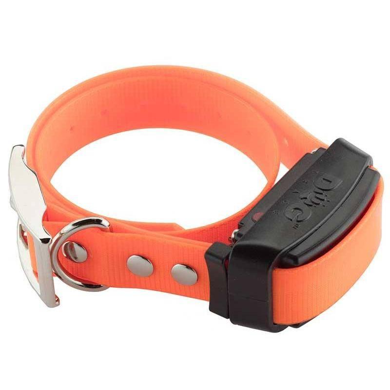 Collier De Dressage Supplementaire Dog Trace Pour Professional 800/1000/2000 Noir/Orange