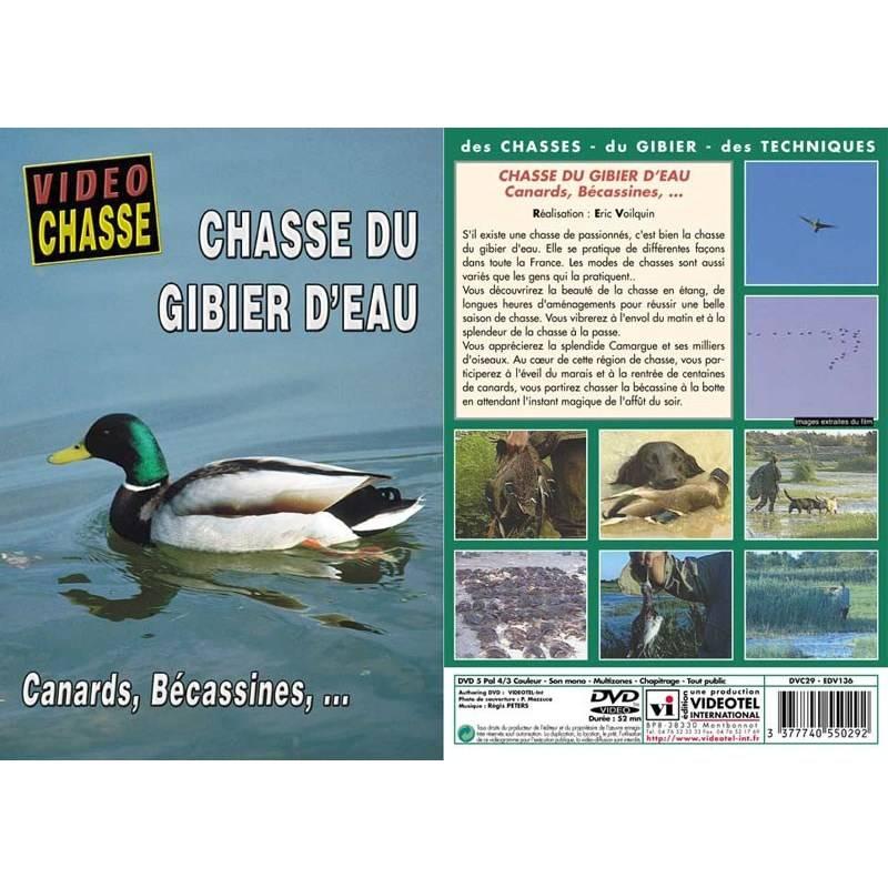 Dvd - Chasse Du Gibier D'eau