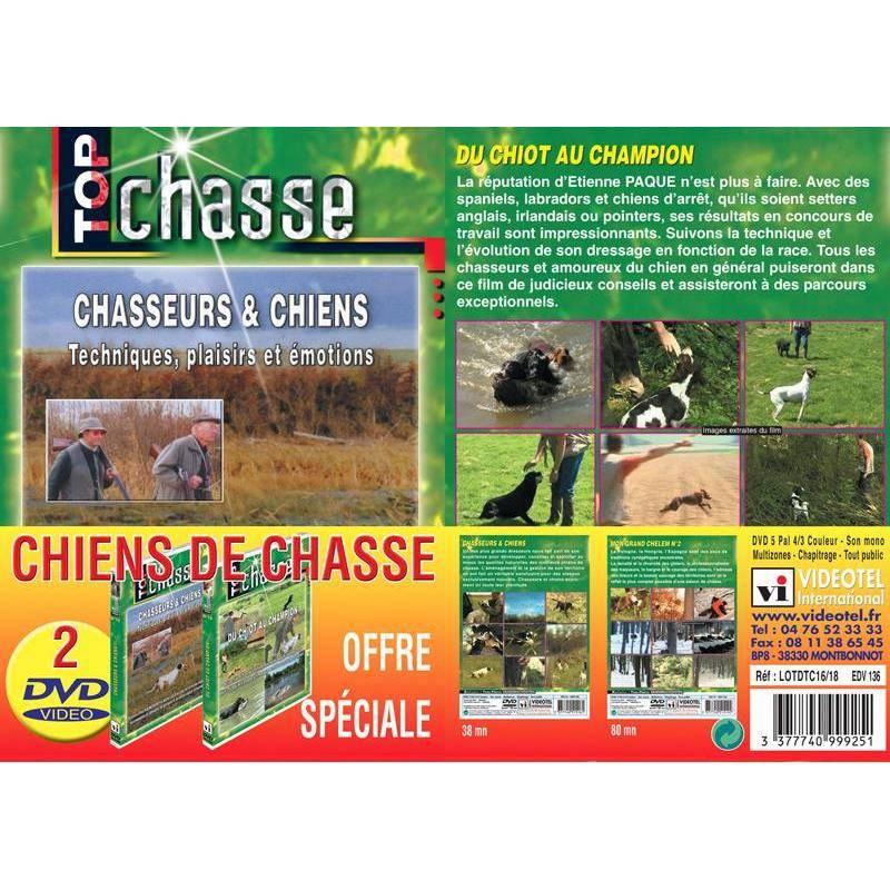 Dvd - Chiens De Chasse - Top Chasse - Lot De 2