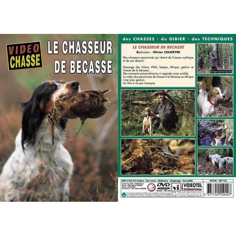 Dvd - Le Chasseur De Becasse  - Chasse Du Petit Gibier - Video Chasse