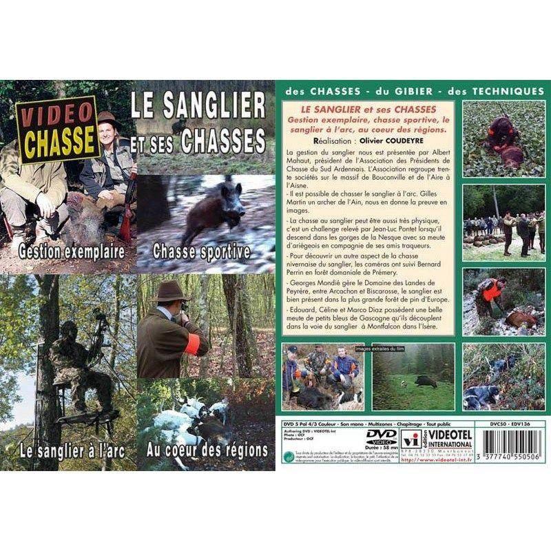 Dvd - Le Sanglier Et Ses Chasses