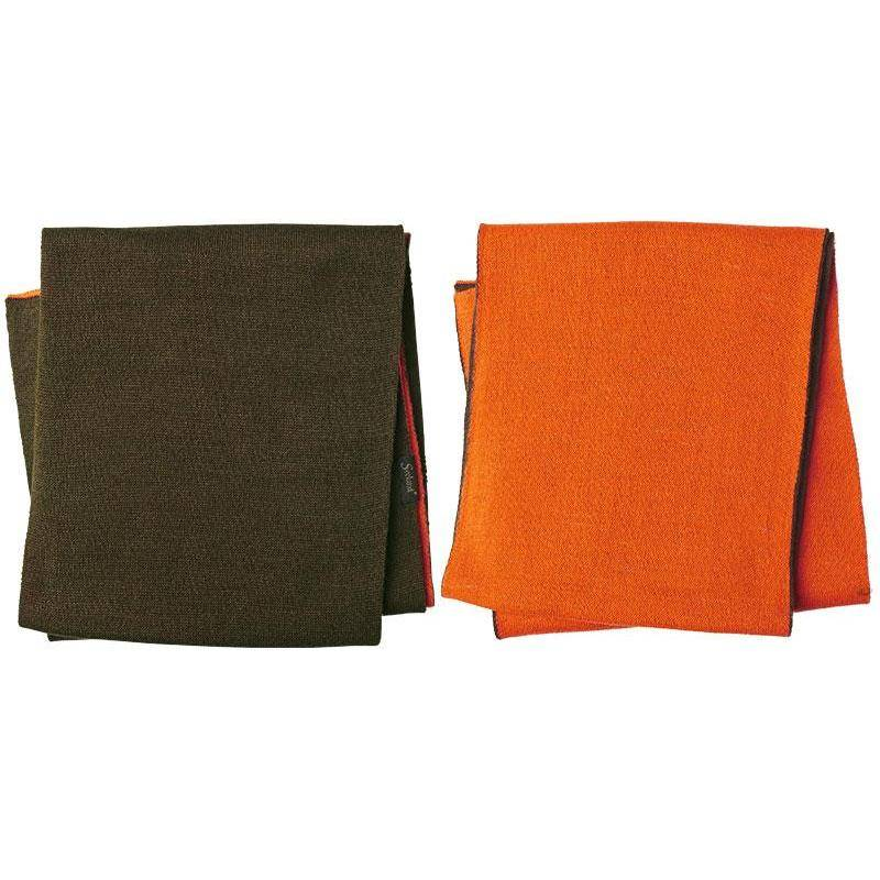 Echarpe Seeland Ian Reversible - Vert/Orange
