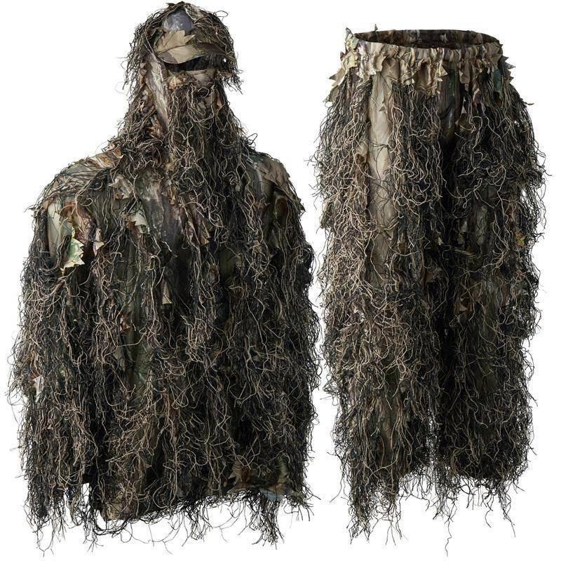Ensemble Veste Et Pantalon Homme Deerhunter Sneaky Ghillie Pull Over - Innovation Gh Camouflage