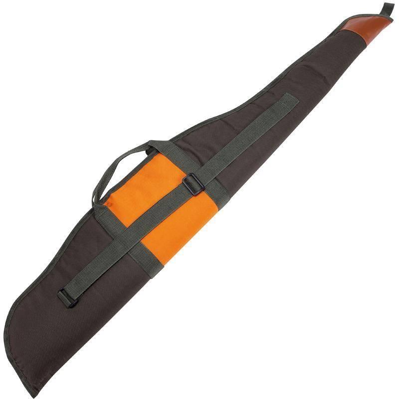 Etui Fusil Januel Toile - Vert/Orange