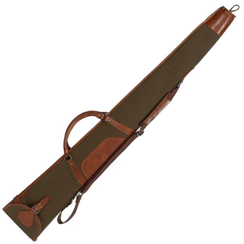 Fourreau Fusil Harkila Retrieve - Canvas/Cuir