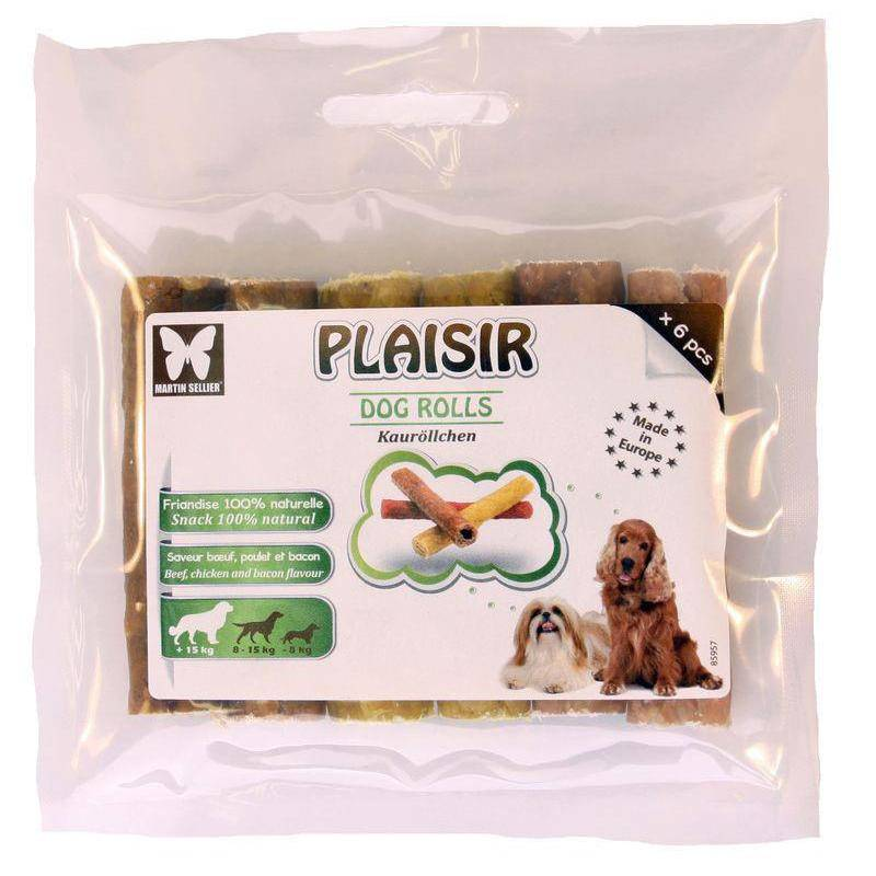 Friandise Plaisir Dog Rolls