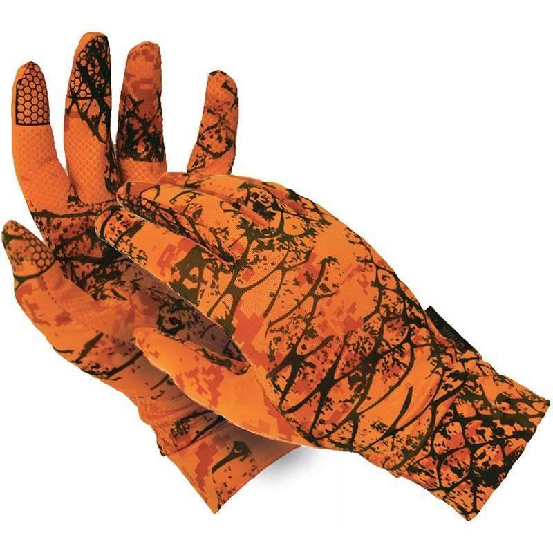 Gants Homme Ligne Verney-Carron Tactiles - Snake Orange