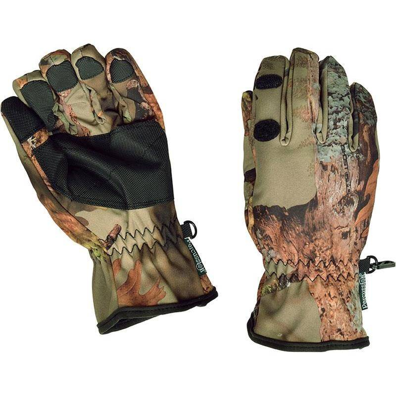 Gants Homme Percussion Palombe - Ghost Camo Forest