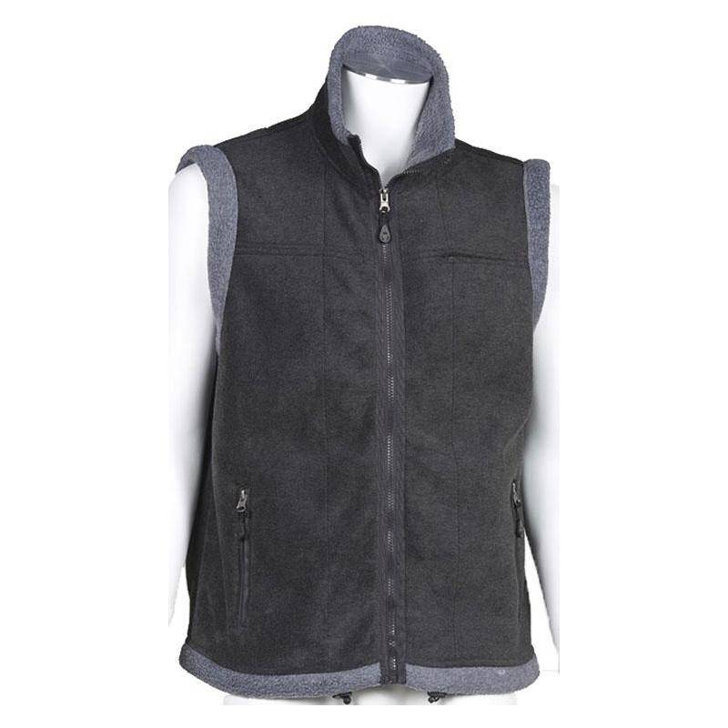 Gilet Sans Manches Homme Bartavel Chicago Polaire - Anthracite