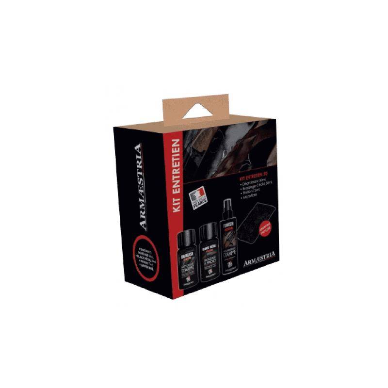 Kit Entretien Armenet 50 Dgrease + Black Metal + Finish