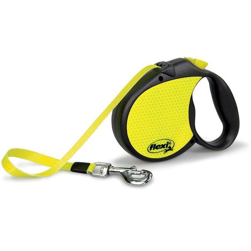 Laisse Retractable Flexi Neon