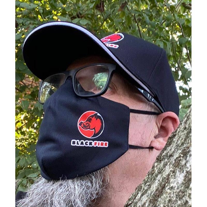 Masque De Protection En Tissu Black Fire Mask