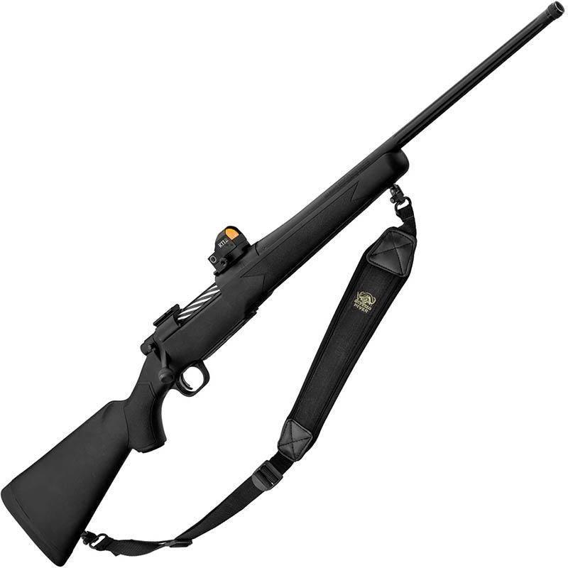 Pack Carabine A Verrou Mossberg Patriot + Point Rouge Rti + Bretelle