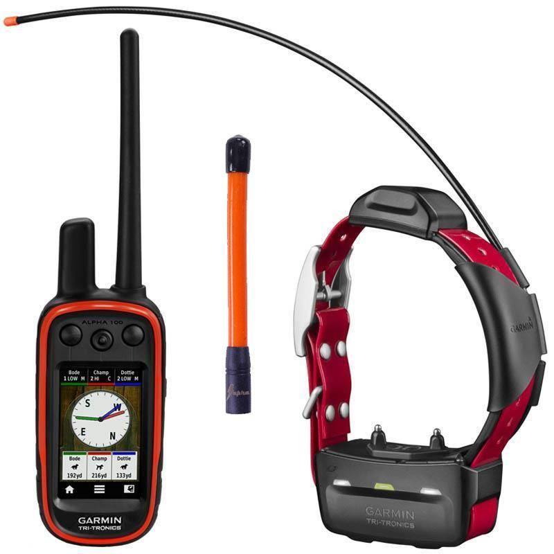 Pack Garmin Reperage & Dressage Telecommande Alpha 100 Et Collier Tt15 + Antenne Pour Centrale Omega