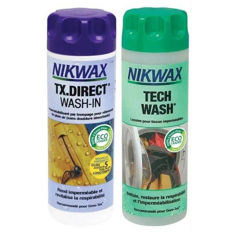 Pack Nettoyage Et Impermeabilisant Nikwax Pour Goretex