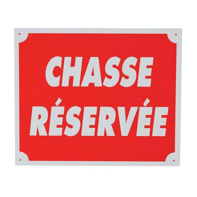 Panneau Signalisation Januel Chasse Reservee