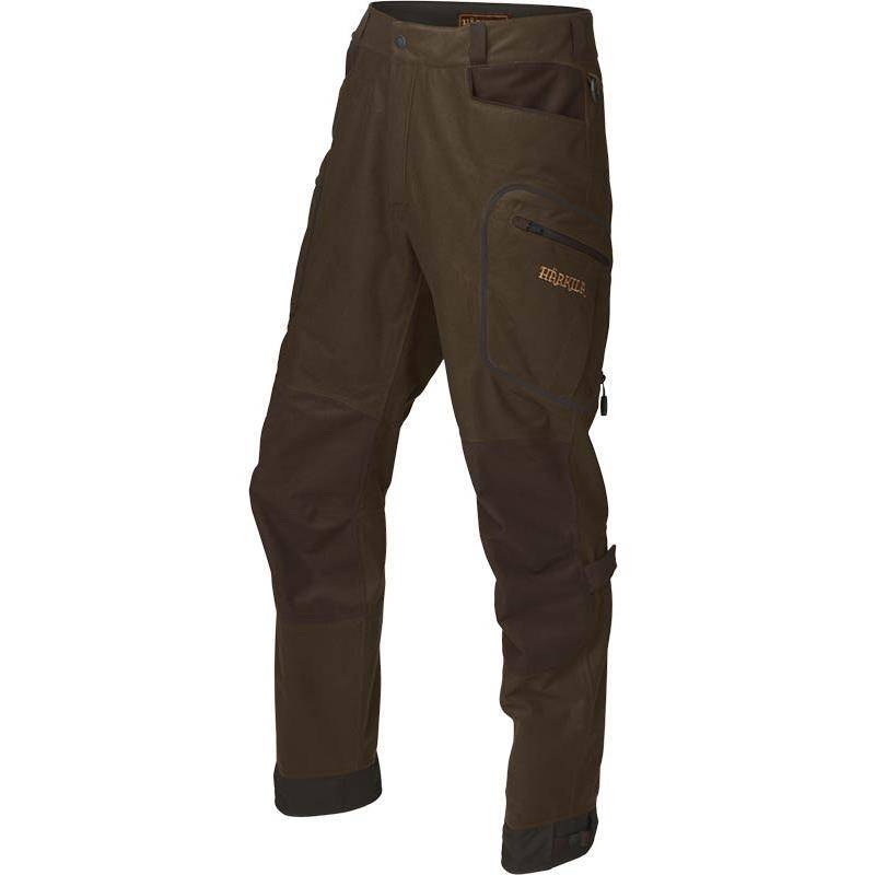Pantalon De Traque Homme Harkila Mountain Hunter - Kaki/Marron