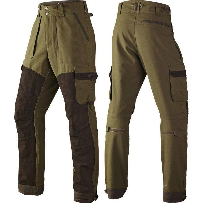 PANTALON DE TRAQUE HOMME HARKILA PRO HUNTER X LEATHER - VERT
