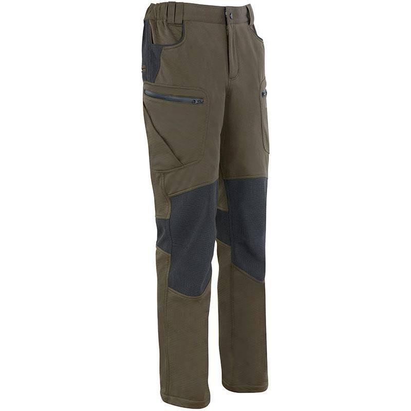 Pantalon De Traque Homme Ligne Verney-Carron Ibex Chaud - Kaki/Noir