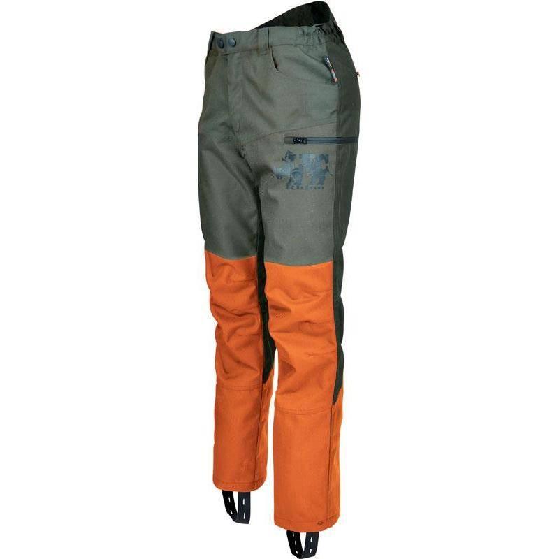 Pantalon De Traque Homme Ligne Verney-Carron Rhino - Kaki/Orange