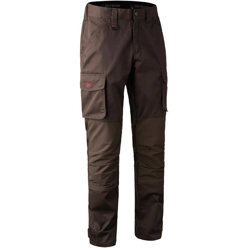 Pantalon Homme Deerhunter Rogaland Stretch Trousers - Brown Leaf